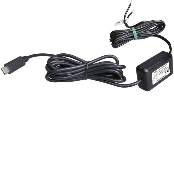 Accessori per presa accendisigari - ProCar Cavo di ricarica USB-C IP44 3000 mA Portata massima corrente=3 A -