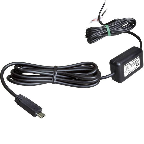 Accessori per presa accendisigari - ProCar Cavo di ricarica micro USB IP44 3000 mA Portata massima corrente=3 A -