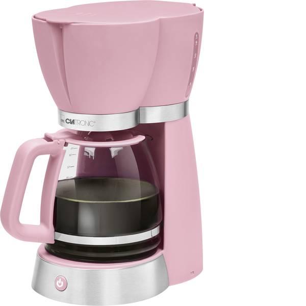 Macchine dal caffè con filtro - Clatronic KA 3689 Macchina per il caffè Rosa Capacità tazze=15 -