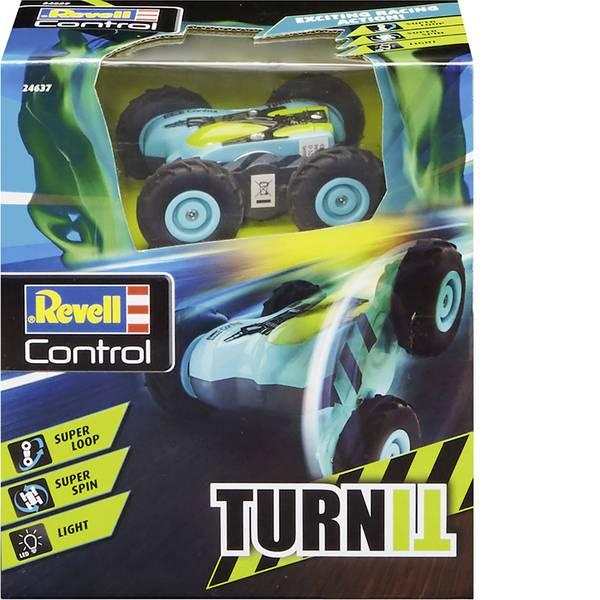 Auto telecomandate - Revell Control 24637 Stunt Car TurnIT Automodello per principianti Elettrica Monstertruck 4WD incl. Batteria e cavo di  -