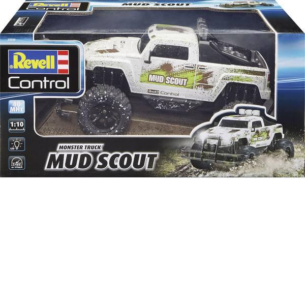 Auto telecomandate - Revell Control 24643 New Mud Scout 1:10 Automodello per principianti Elettrica Monstertruck Trazione posteriore -