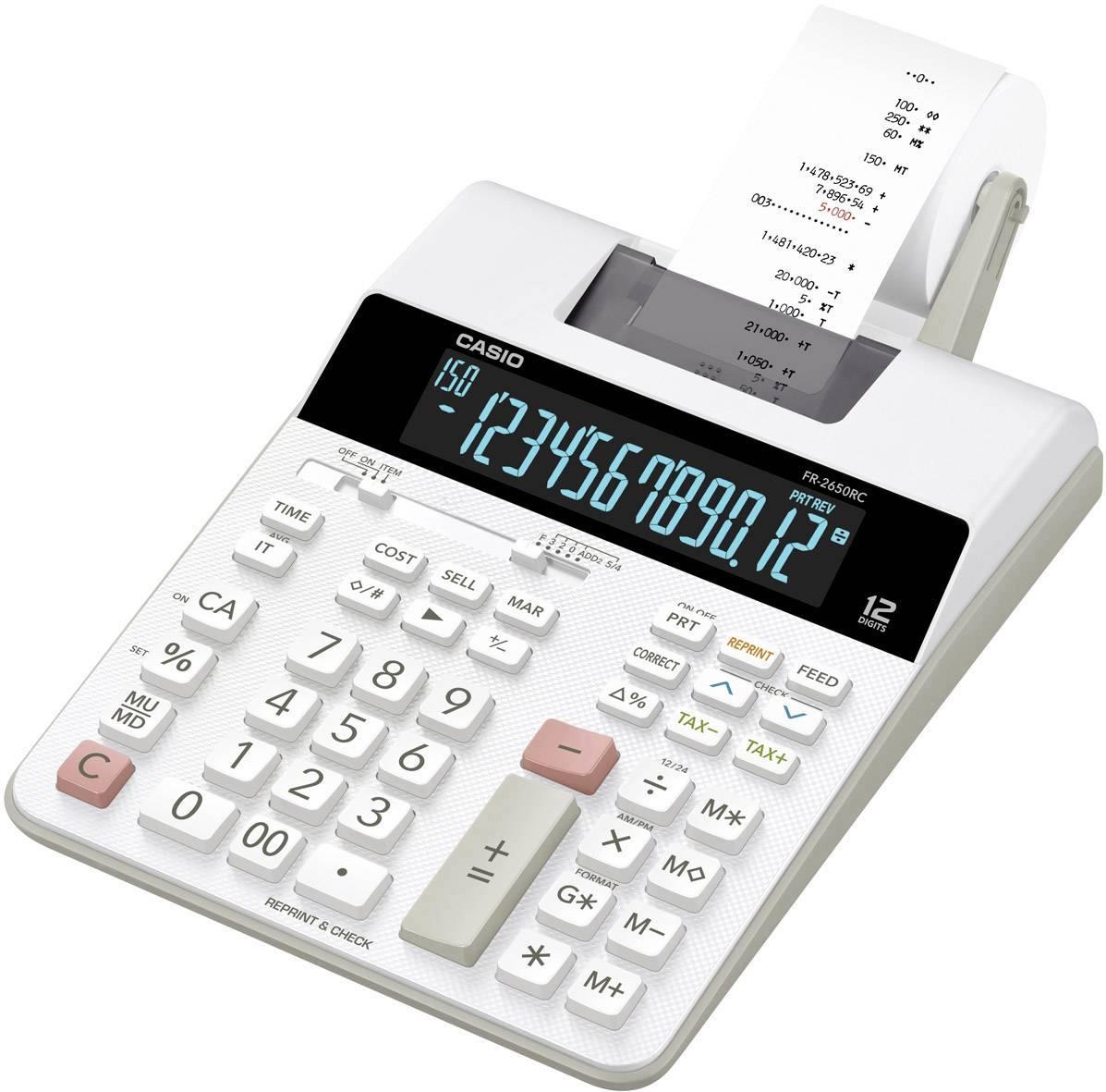 Casio FR-2650RC Calcolatrice da tav