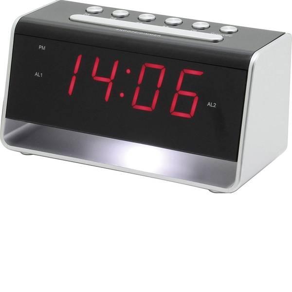 Sveglie - SoundMaster UR8100SI Sveglia Argento, Nero Tempi di allarme 2 -