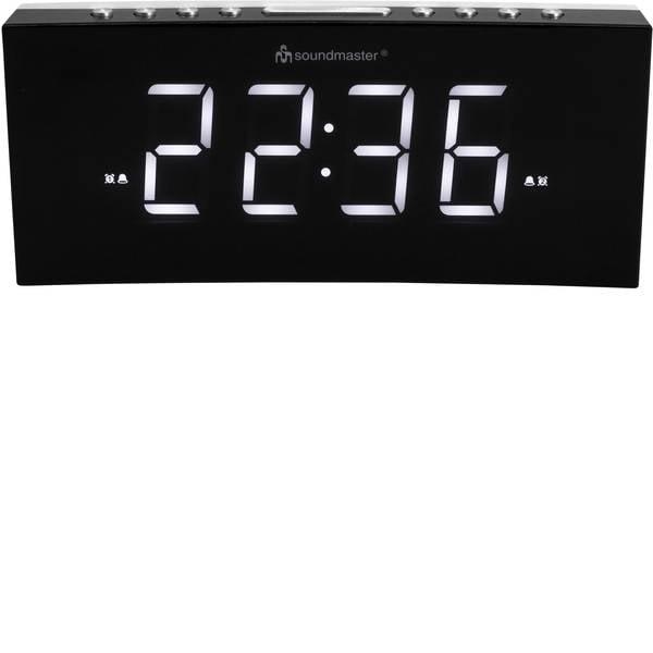 Sveglie - SoundMaster UR8800 Automatico Sveglia Nero Tempi di allarme 2 -