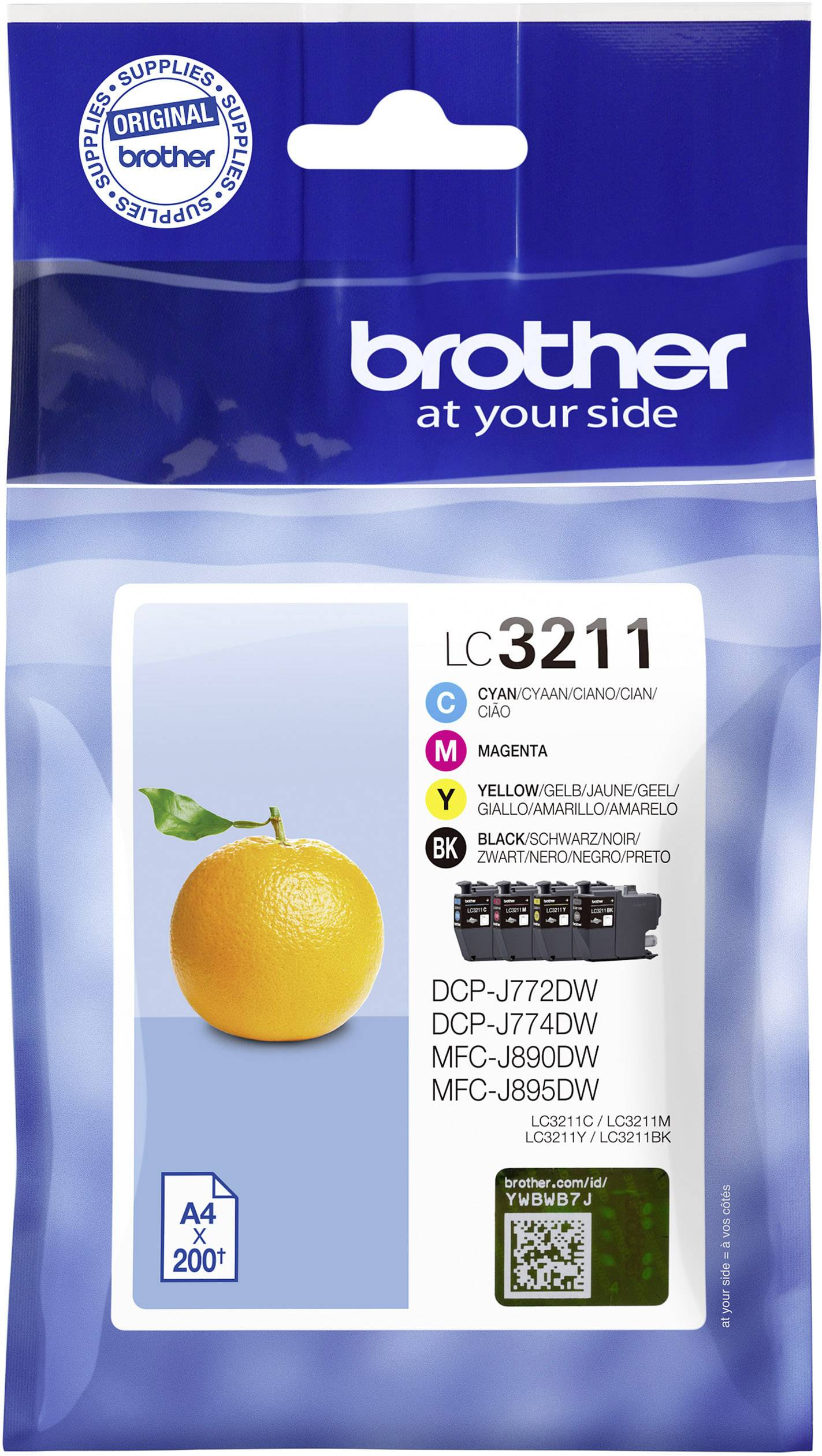 Cartucce combo pack Brother Origina