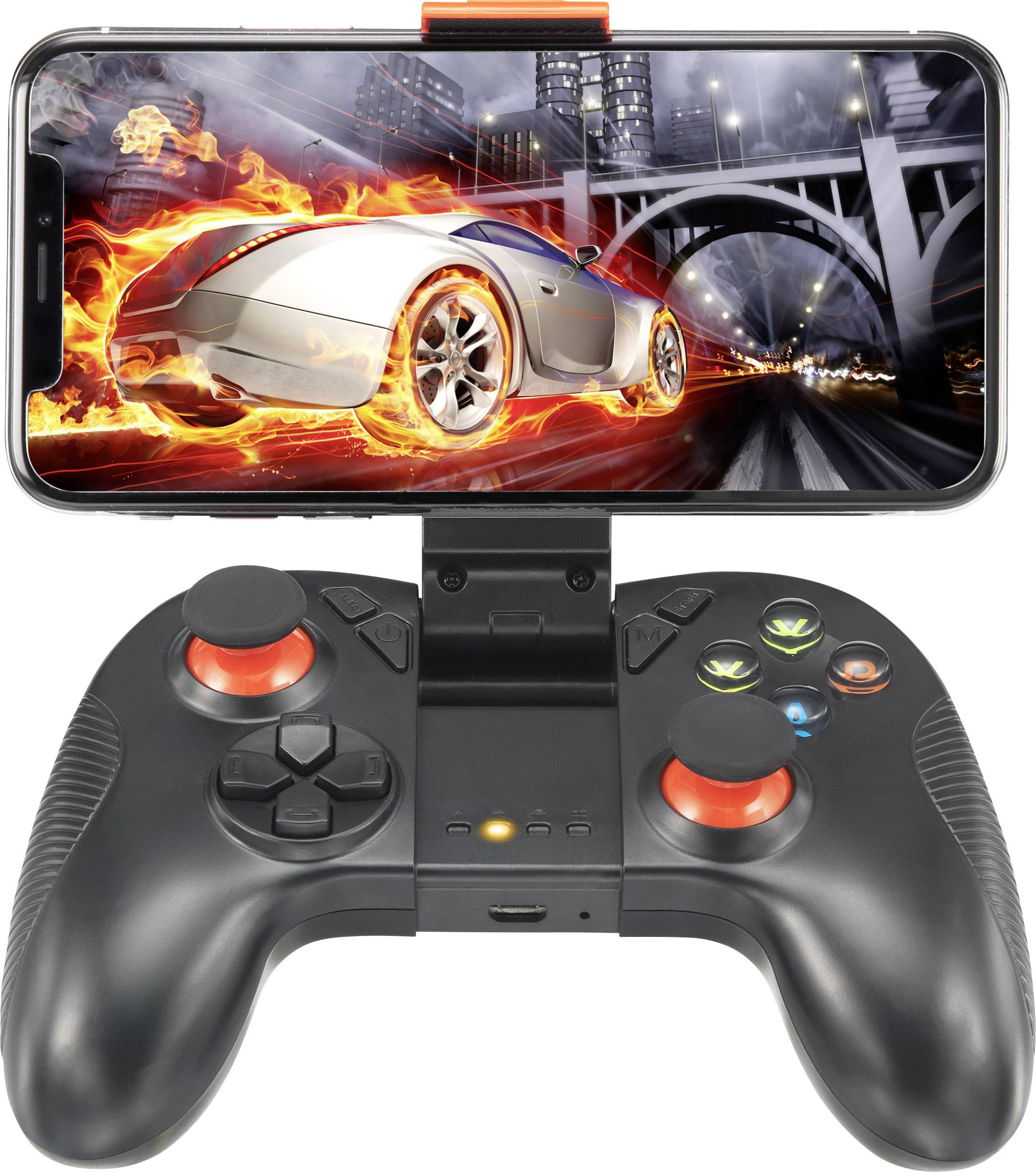 Renkforce GC-01 Gamepad Android Ner