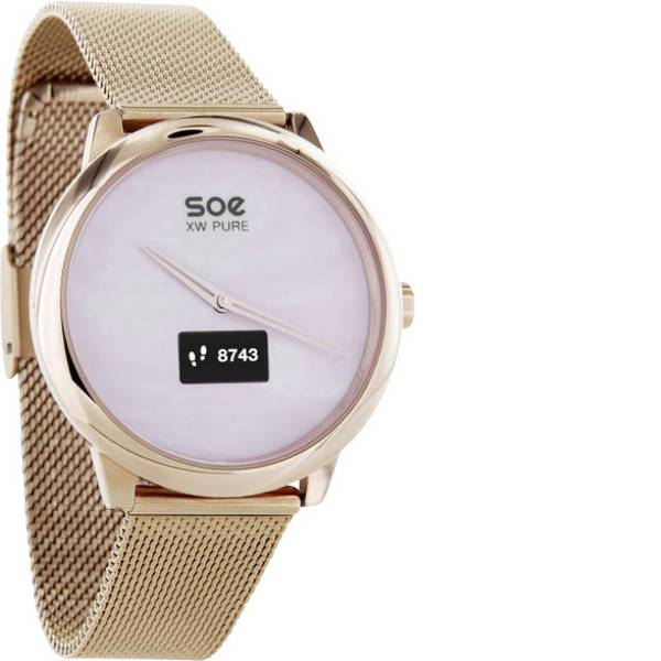 Dispositivi indossabili - X-WATCH SOE XW PURE Smartwatch Rosa oro -