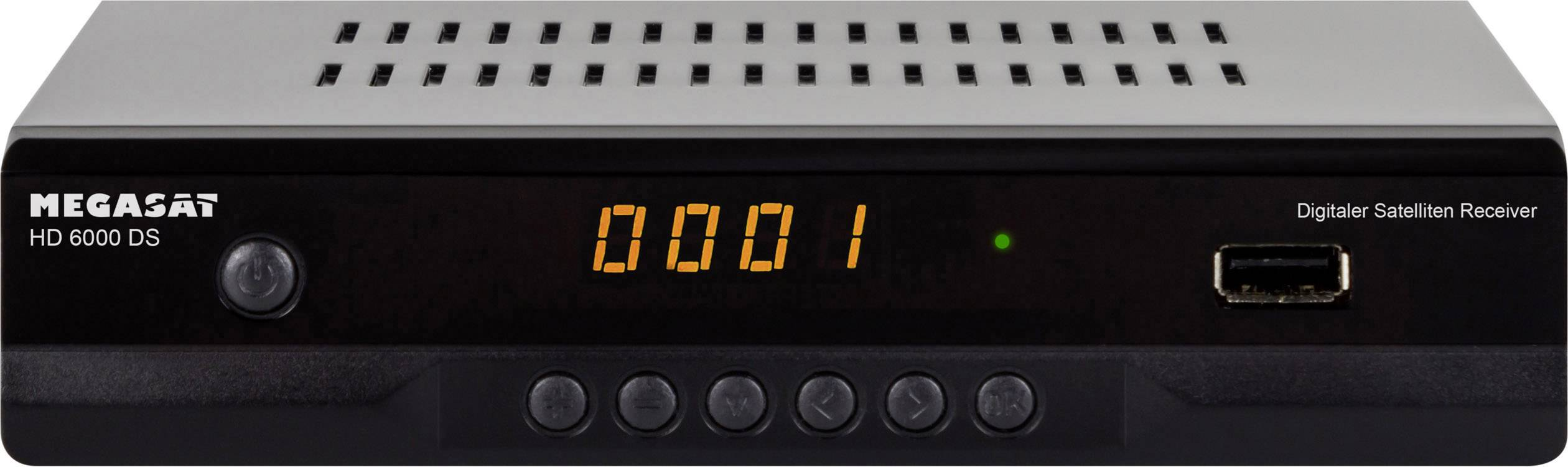 MegaSat HD 6000 DS Ricevitore