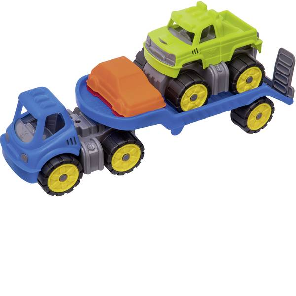 Veicoli giocattolo per bambini - BIG Power worker Mini Monstertruck-Set -