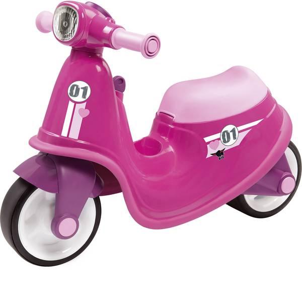 Auto a spinta - Veicolo a spinta per bambini BIG Classic Scooter Girlie Rosa -