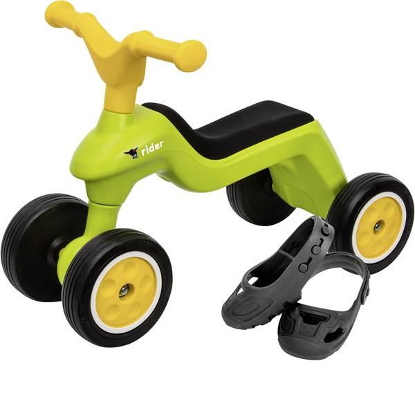 Auto a spinta - Veicolo a spinta per bambini Big Rider + BIG Shoe Care Verde-Giallo -