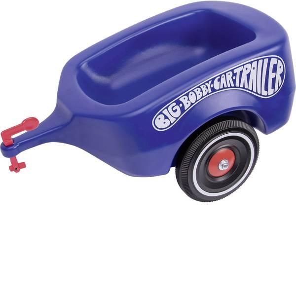 Auto a spinta - Rimorchio a spinta per bambini BIG Bobby Car Trailer Blu Reale -
