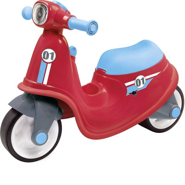 Auto a spinta - Veicolo a spinta per bambini BIG Classic Scooter Rosso - Blu -