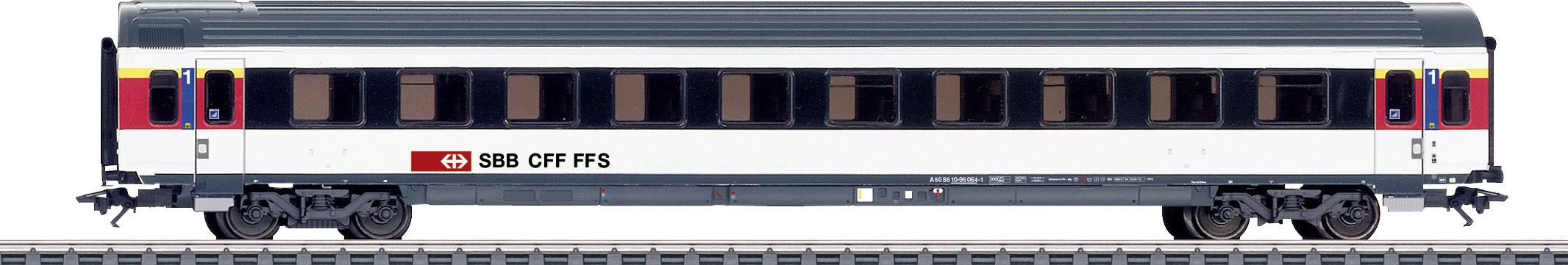 Märklin 42155 H0 Vagone treno veloce della SBB Classe 1.