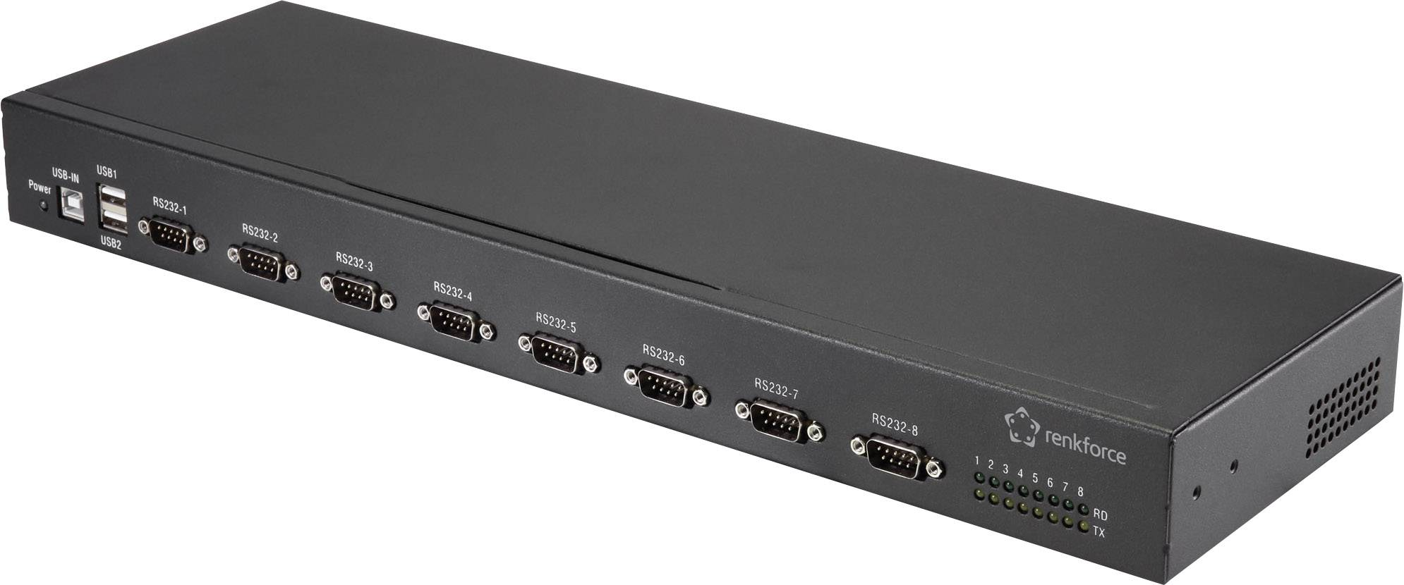 Renkforce RF-19-USB2-RS232-8 8