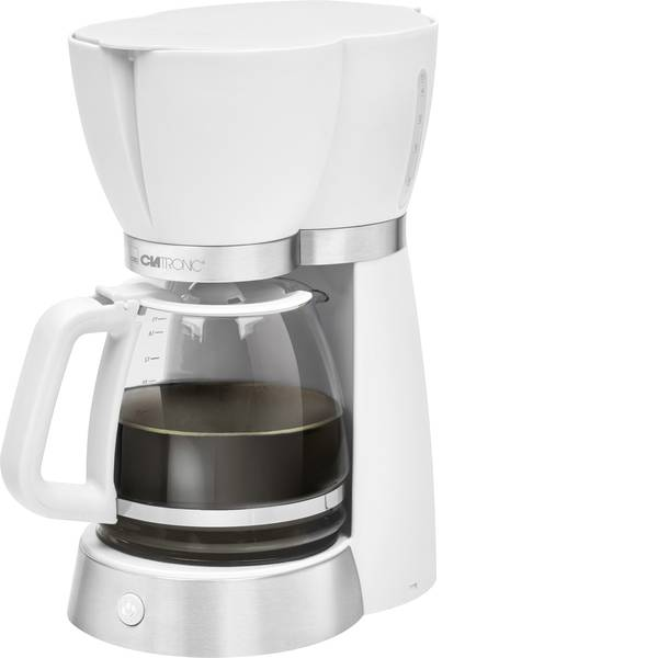 Macchine dal caffè con filtro - Clatronic KA 3689 Macchina per il caffè Bianco Capacità tazze=15 -