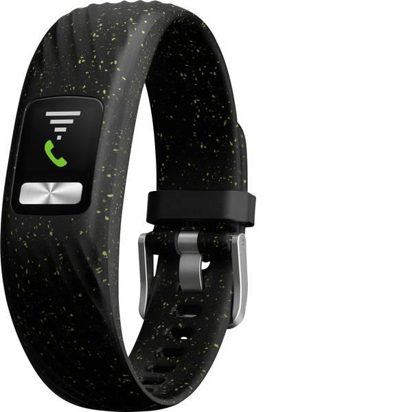 Dispositivi indossabili - Garmin vivofit 4 Black Speckle, S/M Fitness Tracker S/M Nero, Verde -