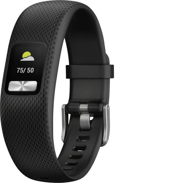 Dispositivi indossabili - Garmin vivofit 4 Black, L Fitness Tracker L Nero -