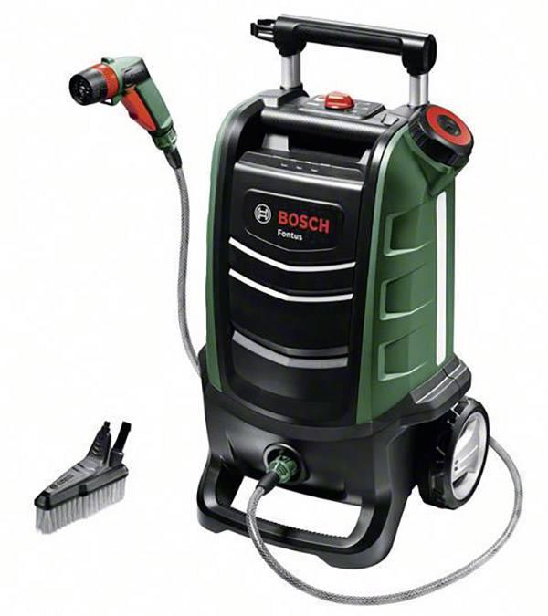 Bosch Home and Garden Fontus Stazione di lavaggio mobile senza batteria 12 bar Acqua fredda
