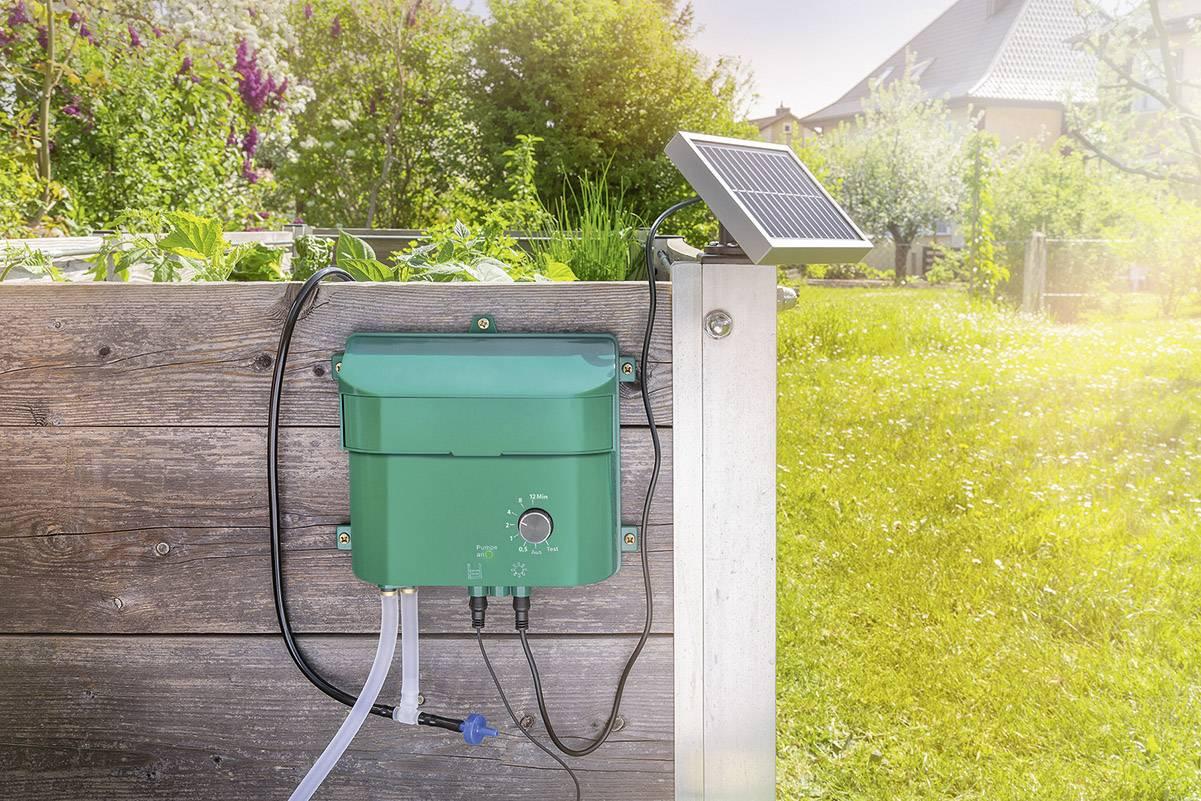 sistema di irrigazione con pompa a energia solare innaffiatoio a goccia piante