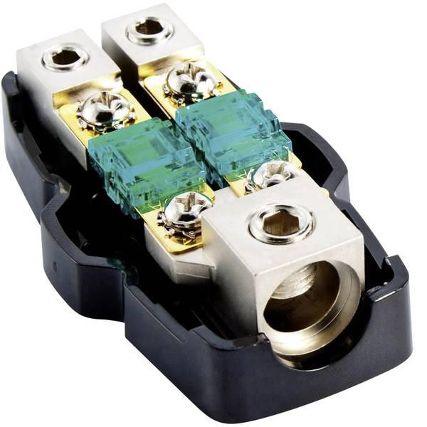Porta fusibili HiFi e distributori di corrente per auto - Porta fusibile Mini-ANL HiFi per auto Sinustec MAV 1-2 protetto dagli spruzzi dacqua -