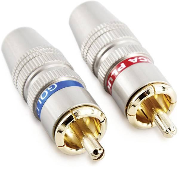 Cavi e connettori RCA HiFi per auto - Spina RCA Sinuslive CS-2 -