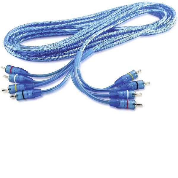 Cavi e connettori RCA HiFi per auto - Cavo RCA 0.8 m Sinuslive RCA 08-4 -