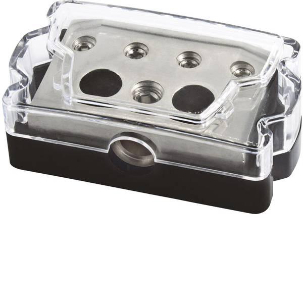 Porta fusibili HiFi e distributori di corrente per auto - Distributore di corrente HiFi per auto Sinustec SV 1-4 -