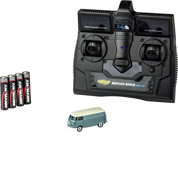 Mini auto radiocomandate elettriche - Carson Modellsport 500504118 VW Bus T1 Kastenwagen 1:87 Automodello Elettrica Auto stradale Trazione posteriore incl.  -