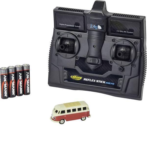 Mini auto radiocomandate elettriche - Carson Modellsport 500504119 VW Bus T1 Samba 1:87 Automodello Elettrica Auto stradale Trazione posteriore incl.  -