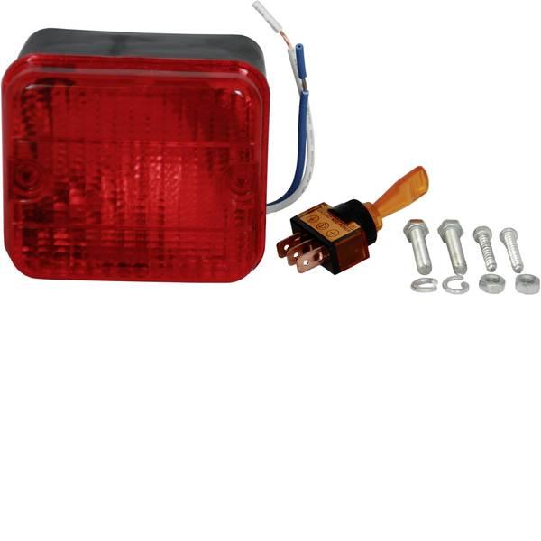 Illuminazione per rimorchi - HP Autozubehör Lampadina ad incandescenza Faro antinebbia posteriore Retronebbia posteriore 12 V Rosso -