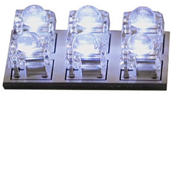 Illuminazione per interni auto - HP Autozubehör 26286 Luce LED da interni 12 V LED (L x L) 30 mm x 20 mm -