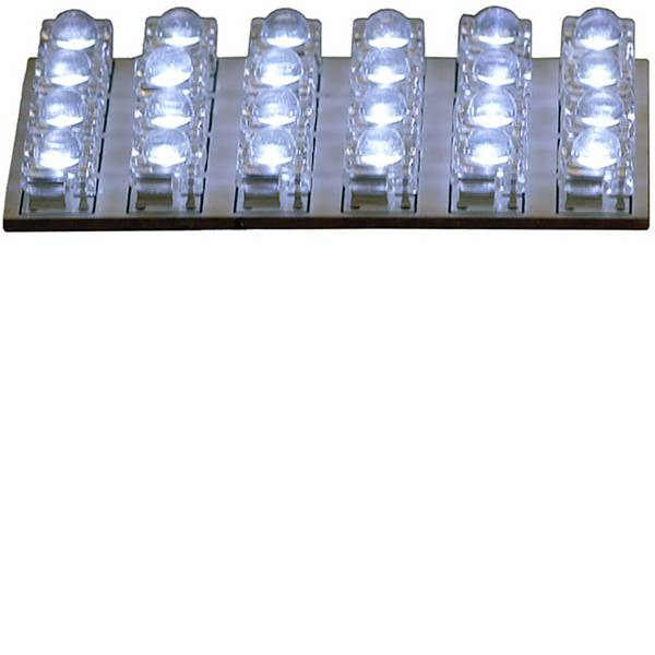 Illuminazione per interni auto - HP Autozubehör 26284 Luce LED da interni 12 V LED (L x L) 65 mm x 35 mm -