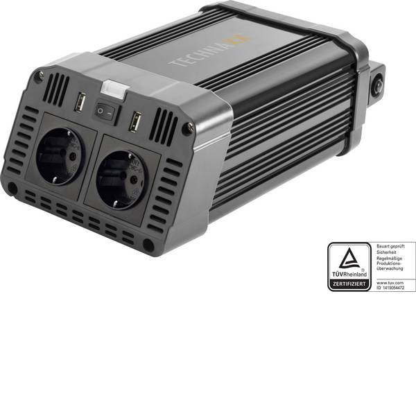 Inverter - Technaxx Inverter TE16 1200 W 12 V/DC - 230 V/AC -