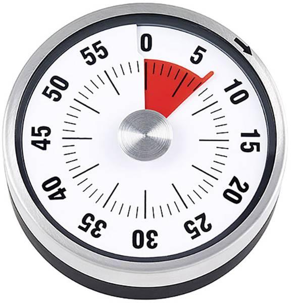 Timer - ADE Timer Acciaio inox (spazzolato) meccanico -