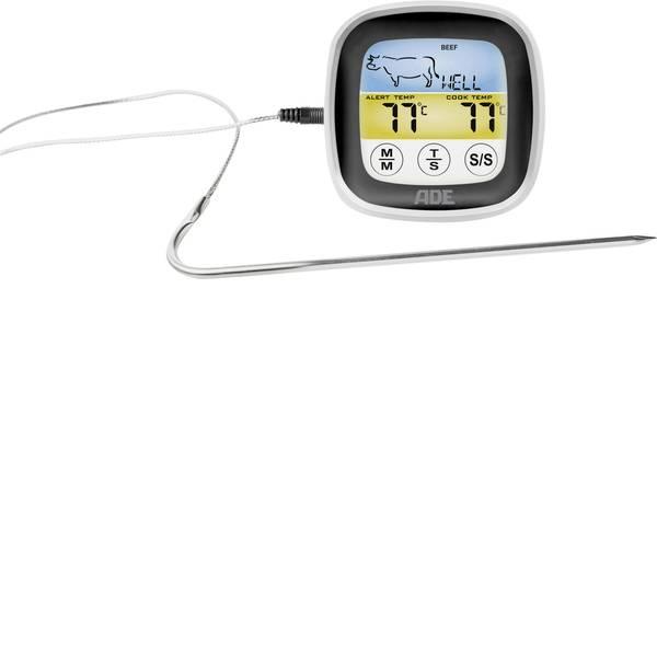 Termometri per la cucina - ADE BBQ 1600 Termometro per Grill con temporizzatore, Allarme Indicatore °C/°F, Frittura, maiale, manzo, Tacchino,  -