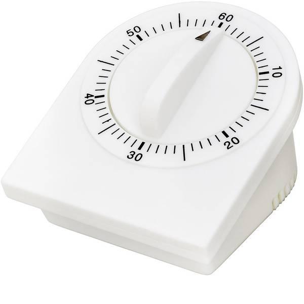 Timer - ADE TD 1609 Timer Bianco meccanico -