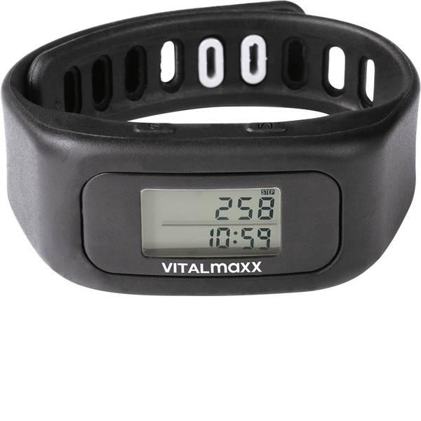Dispositivi indossabili - VitalMaxx Fitness Tracker Nero -