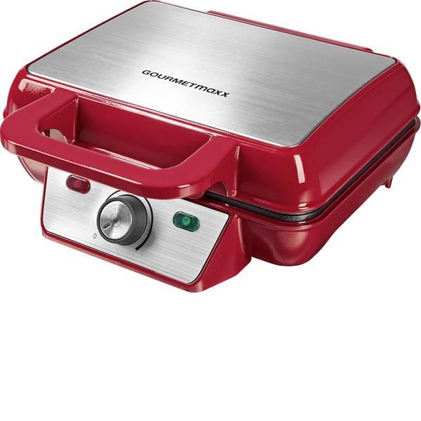 Macchine per cialde - GourmetMaxx 07841 Macchina per cialde Preselezione temperatura Rosso -