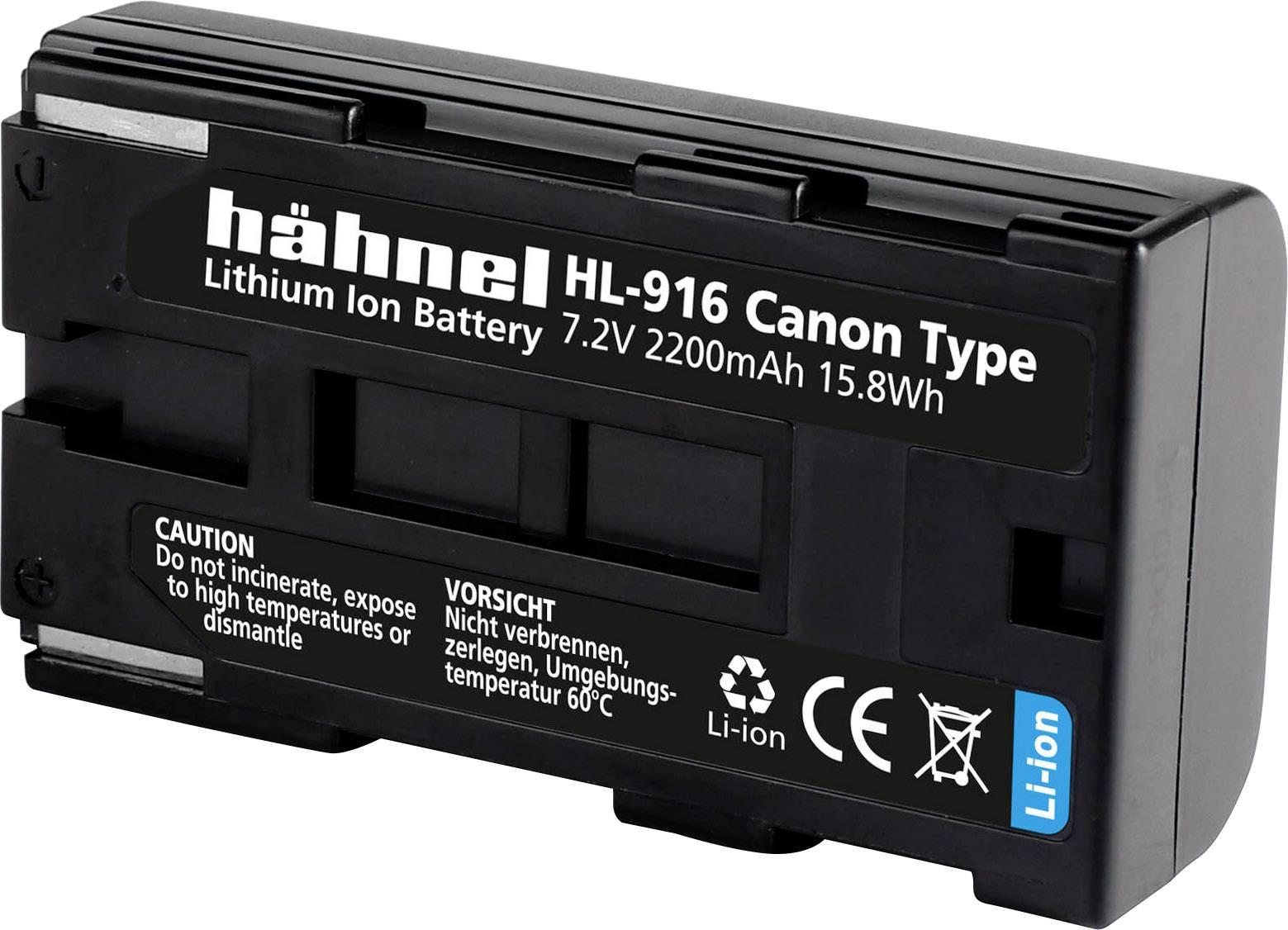 Hähnel HL-916 Batteria ricaricabil