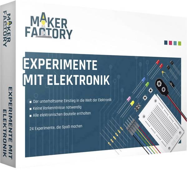 Pacchetti di apprendimento elettrici ed elettronici - MAKERFACTORY Experimente mit Elektronik Pacchetto di apprendimento -