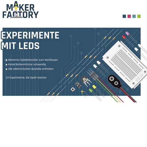 Kit esperimenti e pacchetti di apprendimento - Pacchetto di apprendimento MAKERFACTORY Experimente mit LEDs -