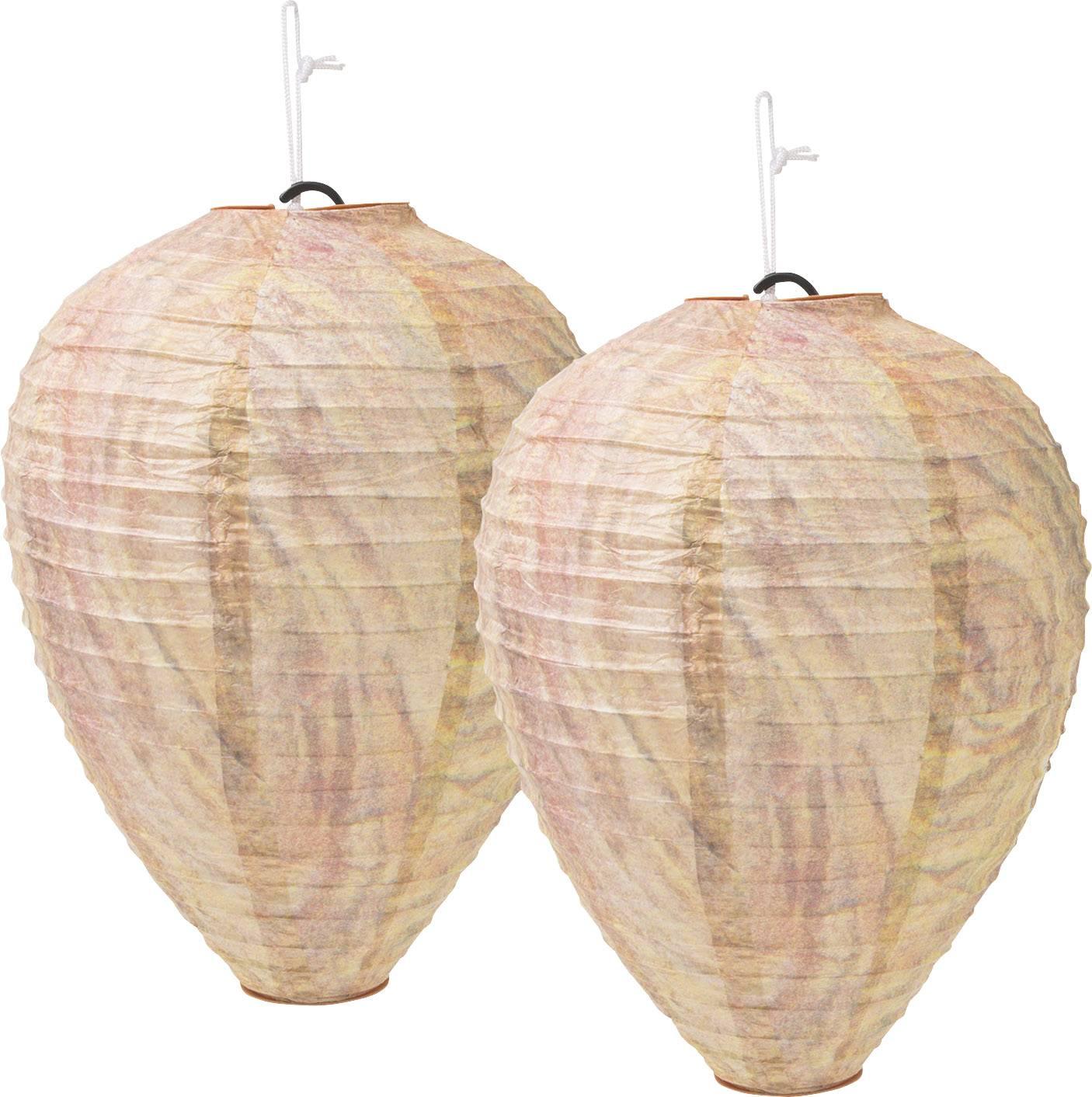 Repellente Naturale Per Vespe gardigo wasp nest dummy 666612 nido di vespe finto (Ø x a) 200 mm x 280 mm  2 pz.