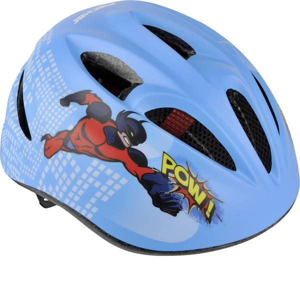 Caschi da bicicletta - Fischer Fahrrad Kinder Comic S/M Caschetto per bambini Blu Taglia=M -