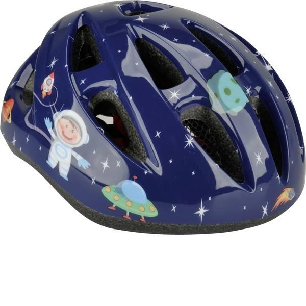 Caschi da bicicletta - Fischer Fahrrad Kinder Space XS/S Caschetto per bambini Nero Taglia=XS/S -