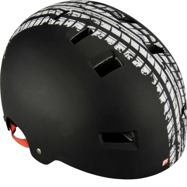 Caschi da bicicletta - Fischer Fahrrad BMX Track L/XL Caschetto BMX Nero Taglia=L -