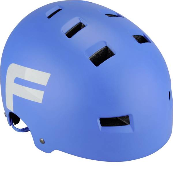 Caschi da bicicletta - Fischer Fahrrad BMX Wing S/M Caschetto BMX Blu Taglia=M -