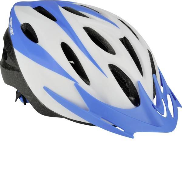 Caschi da bicicletta - Fischer Fahrrad Sportiv ws S/M Caschetto Touring / Città Bianco, Blu chiaro Taglia=M -