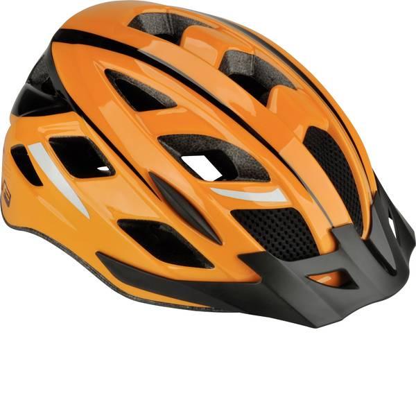 Caschi da bicicletta - Fischer Fahrrad Urban Sport S/M Casco MTB Arancione, Nero Taglia=M -