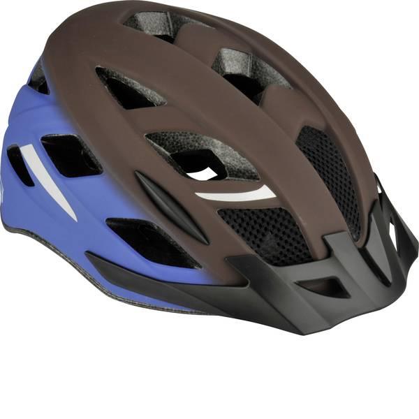 Caschi da bicicletta - Fischer Fahrrad Urban Jaro S/M Casco MTB Marrone, Blu Taglia=M -